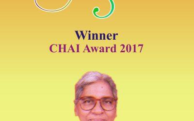 CHAI Award Winner – 2017