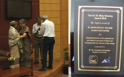 Sr. Dr. Mary Glowrey Award – 2016