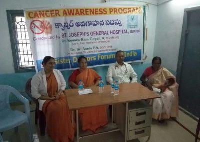 Sr Dr Annie - awareness programme - andhra