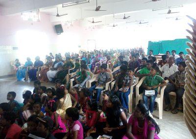 Sr. Dr. Jude Cancer Awaress Program -Tamil Nadu