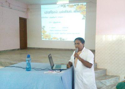 Sr. Dr. Jude Cancer Awaress Program - Tamil Nadu