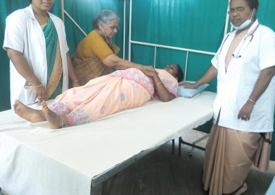 Sr. Dr. Jude - Cancer Screening Camp - Tamil Nadu