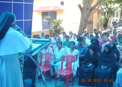 Sr. Dr. Tessy 1 - Cancer Awareness Program - Kerala