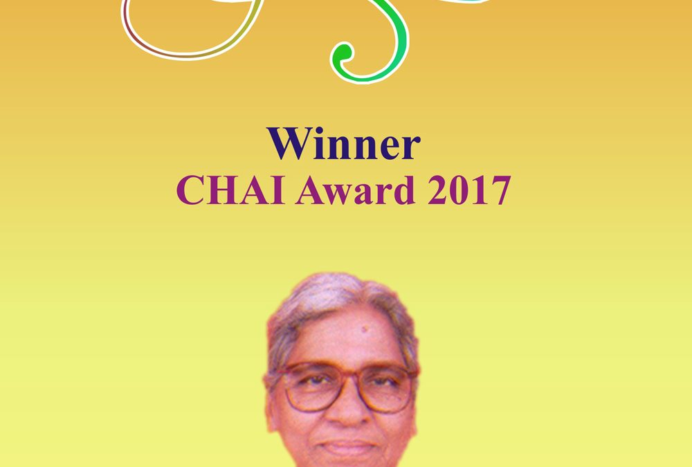 CHAI Award Winner – 2017