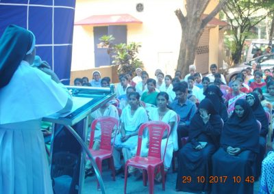 Sr. Dr. Tessy 1 - Cancer Awareness Program - Kerala